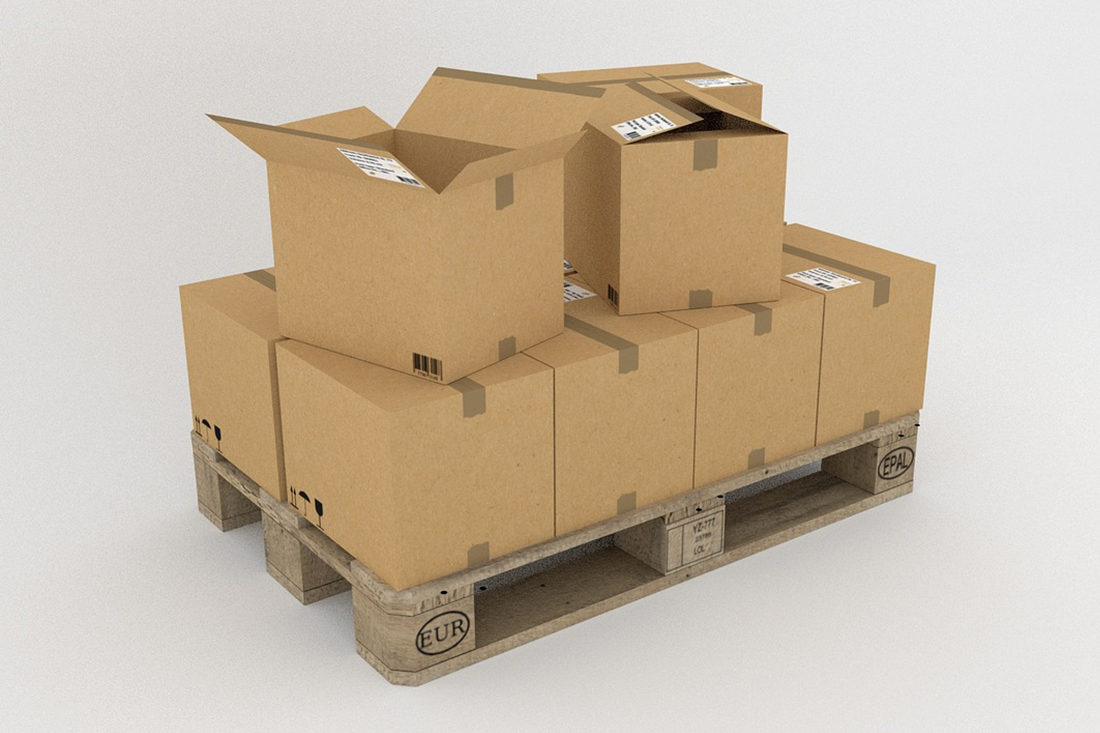 Stacking boxes will keep your storage unit accessible.